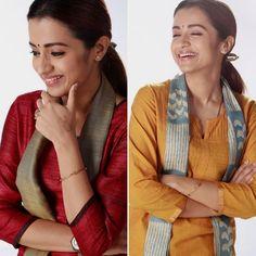 #Trisha 😍 !! Trisha Photos, Trisha Krishnan, Indian Star, Salwar Designs, Tamil Actress Photos, Tabu, Celebs, Celebrities, Fashion Outfits
