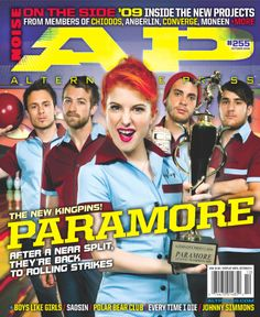 Paramore - Issue 255 - October 2009