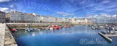 Puerto de #ACoruña by @SindoNovoa #SienteGalicia #Galicia #GaliciaCalidade    ➡ Descubre más en http://www.sientegalicia.com/
