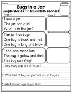 Give your child a boost using our free, printable Preschool reading worksheets. These preschool reading worksheets will get your little one ready for kindergarten. Help your kid get a leg up on reading with our preschool reading printables. Reading Centers, Reading Fluency, Reading Intervention, Reading Strategies, Reading Activities, Teaching Reading, Reading Stories, Guided Reading, Kindergarten Reading Comprehension
