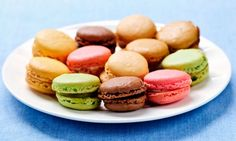 French Macaroons Recipe - Create the classic French Macaroon with this basic version of the original Parisian recipe French Macaroon Recipes, French Macaroons, Macaron Recipe, Five Ingredients, Fun Desserts, Finger Foods, Sweet Recipes, Candy Recipes, Cupcake Cakes