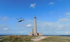 Gatteville lighthouse has a visitor