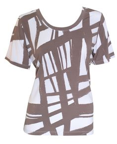 NONI B Travel S/Slv Print Top    $39.95  Travel short sleeve print top Polyester/ elastane    Item Code: 043895