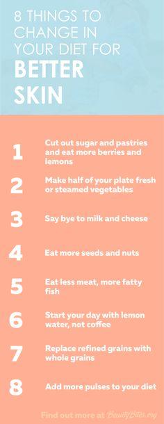 diet for better skin