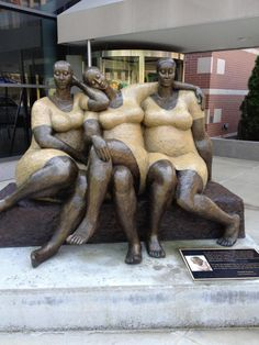 "The piece is in Harlem and it's entitled ""Friends"". The sculptor is Nnamdi Okonkwo."