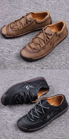 Formal Shoes For Men, Men Formal, Boat Shoes, Men's Shoes, Shoes Sneakers, Business Shoes, Awesome Shoes, Martin Boots, Cow Leather