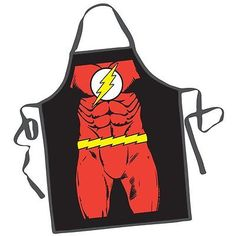 Apron - DC Comic - The Flash Character New Lice... - Exclusively on #priceabate #priceabateCollectibles! BUY IT NOW ONLY $14.99