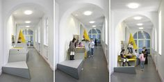 Waiting room kids seating structure?   Erika-Mann Elementary School II - Berlin | Jorymon Techblog