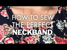 How to Sew Knit Neckbands, Sleeves and Hems - Do It Better Yourself