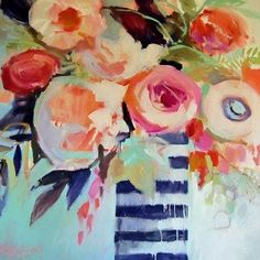 Anna's Blooms Canvas Art - Erin Gregory