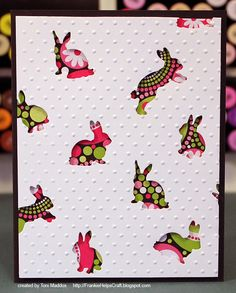 Frankie Helps Craft, Toni M Maddox, handmade CAS card, Easter