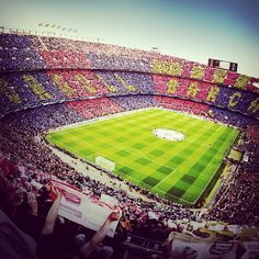 FC Barcelona, Camp Nou - Barcelona, Catalonia, España.