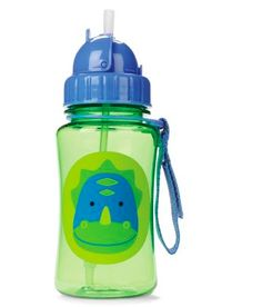 Zoo Straw Bottle Dino – by Skip Hop. Available at www.babycompany.co.uk