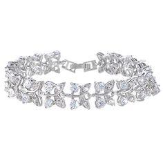 Ever Faith Zirkonia Kristal elegant Blätter Art Deco Armband Armreif Silber-Ton N03906-1 Ever Faith http://www.amazon.de/dp/B00NQQ5R80/ref=cm_sw_r_pi_dp_fnAUvb14NXW1R