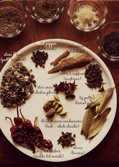 Veg recipes of India: aromatic spices for goda masala