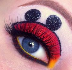 Mickey mouse makeup look - she has a lot, very cool site!