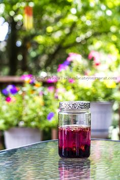 Hibiscus infused vodka.... Yes, please. Maybe make an infused version of starbuck's very berry hibiscus tea.