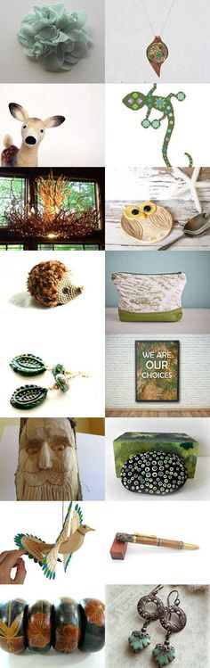 Forest Friends  by Margie on Etsy--Pinned+with+TreasuryPin.com