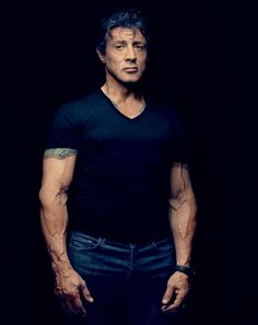 Sylvester Stallone by Robert Maxwell