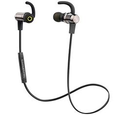 Bluetooth Earphones, SoundPEATS Wireless Bluetooth Stereo Magnetic Earbuds, Music Streaming, Secure Fit for Sport, Gym with Built in Mic - Metal Housing http://www.coolenews.com/?p=14960