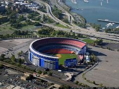 shea stadium; second home to mets following the polo grounds and preceding citi field:  flushing, new york