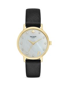 1829b8d7fe2 kate spade new york Mother-of-Pearl Metro Monogram A Watch