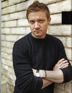Jeremy Renner I might have pinned already but don't care. Still handsome as ever.