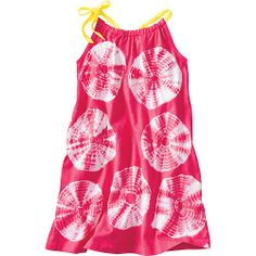 Tie Dye Jersey Pillowcase Dress from Hanna Andersson on Catalog Spree, my personal digital mall.