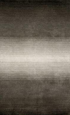 Ombre Grey Solid Area Rug
