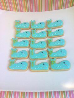 whale sugar cookies