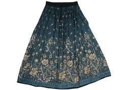 Womens Bohemian Skirts Blue Print Beaded Skirt Bellydance Gypsy Skirts 36 Mogul Interior, http://www.amazon.com/dp/B009PWJKMS/ref=cm_sw_r_pi_dp_51qEqb0N7X7TG$24.99