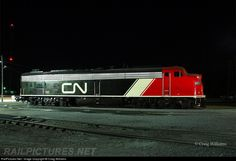 RailPictures.Net Photo: CN 102 Canadian National Railway EMD E9(A) at Centralia, Illinois by Craig Williams