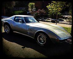 Silver Corvette - wish I had a stingray