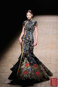 China-Fashion-Week-Spring -2015-Zhan-Zhifeng (13) jαɢlαdy