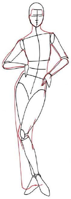 how to draw people   How to Draw a Woman in an Evening Dress in 5 Steps