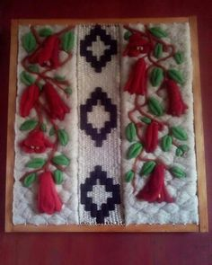 Discover recipes, home ideas, style inspiration and other ideas to try. Woven Fabric, Needle Felting, Weaving, Style Inspiration, Deco, Crafts, Creative Crafts, Scrappy Quilts, Creativity