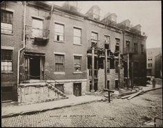 Houses on Minetta Street. ca 1920