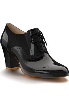 Shoes of Prey Oxford Bootie (Women) available at #Nordstrom
