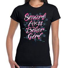 261369d1a5f Biker-Life-Womens-Smart-Biker-Chick-T-Shirt Biker