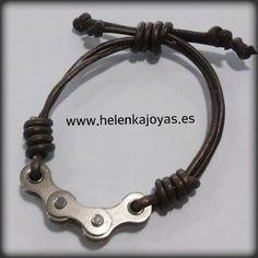 Resultado de imagen para pulseras con cadenas de bici