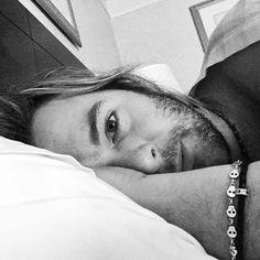 Keith - bed selfie