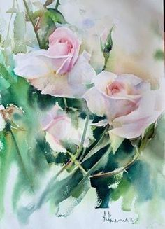 9 July 9 is the day of the year in leap years) in the Gregorian calendar. 175 days remain until the end of the year. Watercolor Artists, Watercolor Landscape, Watercolor And Ink, Watercolor Flowers, Watercolor Paintings, Watercolors, Painting Flowers, Art Floral, Abstract Flowers