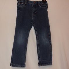 Blue Jeans Denim Toddler Size 4T 4 Wrangler Boys #Wrangler #Jeans #Everyday