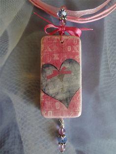 Affair+Of+The+Heart+Domino+Pendant+++Heart+Love+by+pendantparadise,+$11.95