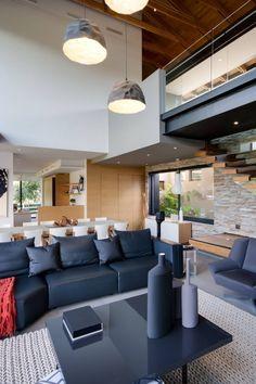 Salas de estar modernas por Meulen Architects