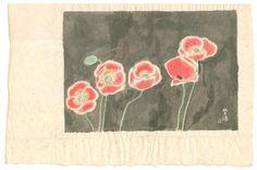 Not dated - Kasamatsu, Shiro - : Poppies
