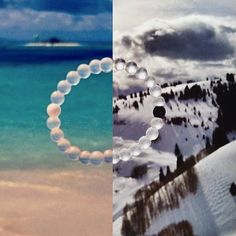 The Lokai bracelet is infused with elements sourced from the highest and lowest points on Earth. The white ball, carrying water from Mt. Everest, and the black ball, holding mud from the Dead Sea, exist on opposite ends. A string of clear beads link the two, signifying that throughout life's circular journey, your path is your own.  10% OF THE PROCEEDS WILL GO TO GIVING BACK