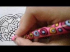 marca tus cuadernos con mandalas | 3 ideas | CAMILA NAVAS - YouTube