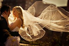 Susan Stripling. Gorgeous light and long veil lifted by the wind