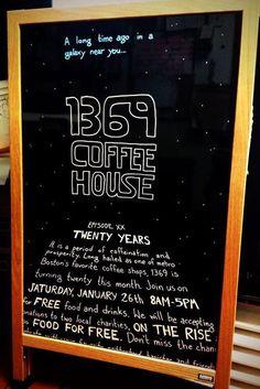 1369 Coffeehouse in #CambridgeMA turns 20 in 2013. DiscoverInmanSquare.com + DiscoverCentralSquare.com